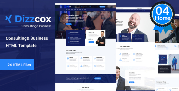 Dizzcox - Business Consulting Template
