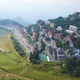 Prato Nevoso town high angle view with mist in a summer day in Prato Nevoso, Italy - PhotoDune Item for Sale