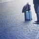 closeup of elegant man waiting on sidewalk - PhotoDune Item for Sale