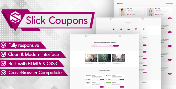 Slick Theme for Coupons CMS
