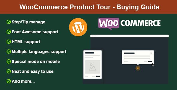 Download WooCommerce Product Tour – Buying Guide Free Nulled