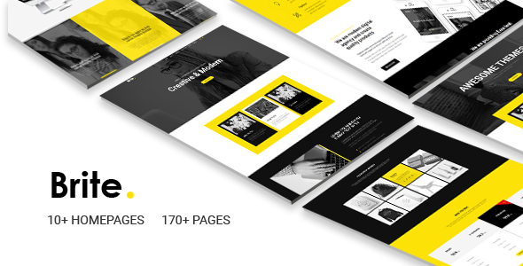 Brite   Responsive MultiPurpose HTML5 Website Template   Business by codelayers