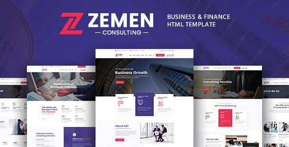 Special Zemen - Business Consulting and Professional Services HTML Template