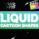 Cartoon Liquid Shapes | Apple Motion - VideoHive Item for Sale