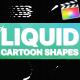 Cartoon Liquid Shapes   Apple Motion - VideoHive Item for Sale