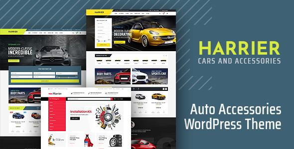 Harrier - Car Dealer and Automotive WordPress Theme by KlbTheme