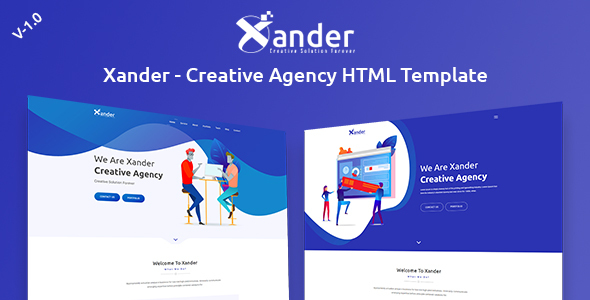 Xander - Creative Agency HTML Template