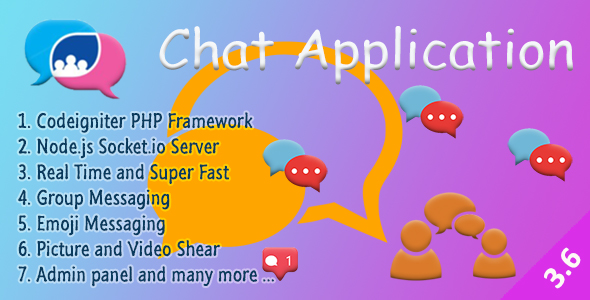 Chat Manager - Codeigniter ( Socket.io) Node.js