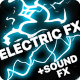 Cartoon Electric Elements And Titles | Apple Motion - VideoHive Item for Sale