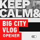 Big City Vlog - VideoHive Item for Sale