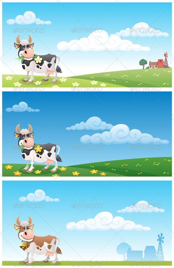 Dairy Farm - Landscapes Nature