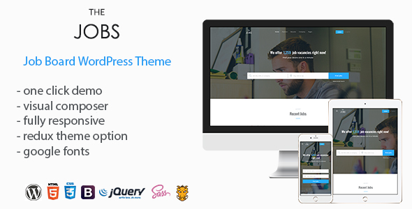 TheJobs - Job Board WordPress Theme by vergatheme