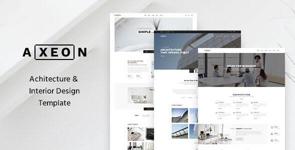 Axeon- Architecture, Interior and Renovation Template