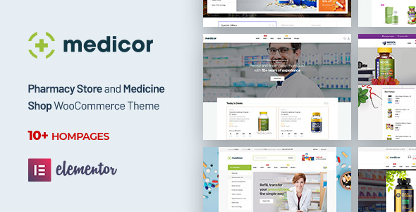 medicor pharmacy wordpress theme