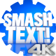 Smash Text - VideoHive Item for Sale