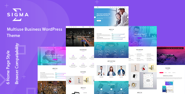 Sigma - Multipurpose WordPress Theme by themeexpo