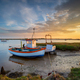 Fishing boats on the mouth of the River Alde - PhotoDune Item for Sale
