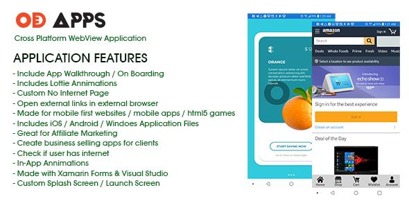 app ios android cross platform