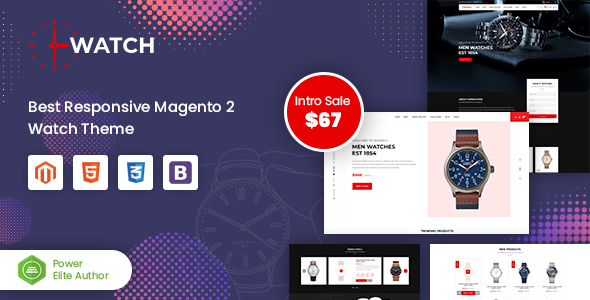 Watch – Multipurpose Responsive Magento 2 Theme