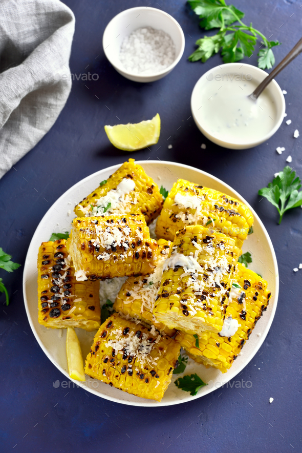 Corn on the cob - Stock Photo - Images