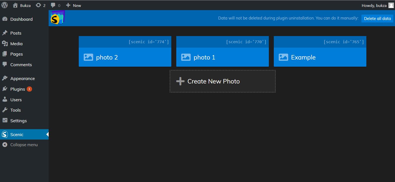 Scenic 3D Photo Parallax WordPress Plugin v1 6