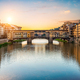 Morning sun over Vecchio bridge - PhotoDune Item for Sale