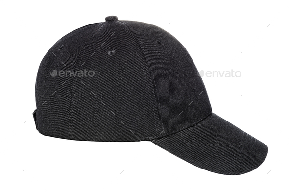b3773fb1 Black baseball cap isolated Stock Photo by Ha4ipuri | PhotoDune