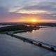 Aerial view of Munkholm bridge, Denmark - PhotoDune Item for Sale