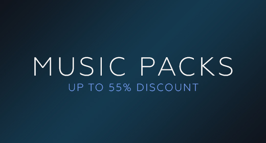 Music Packs (up to 55% discount)