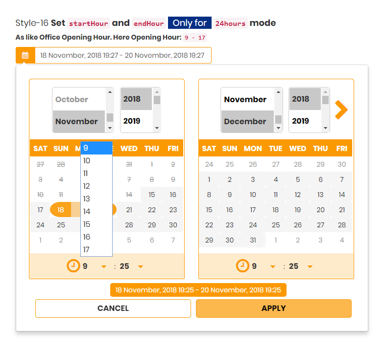 DateRange Picker - Multipurpose Date Range Picker - WordPress Plugin