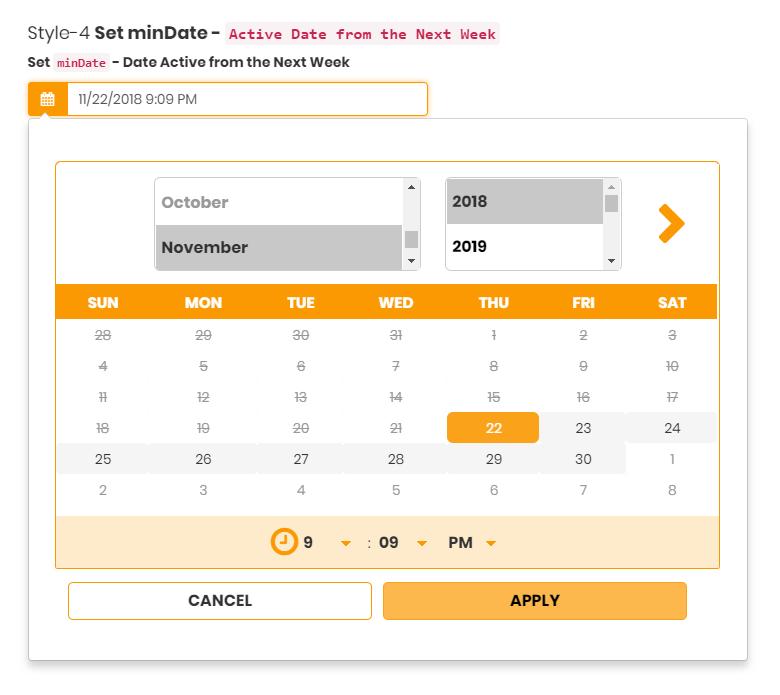 DateRange Picker - Multipurpose Date Range Picker - WordPress Plugin