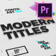 Just Type | Modern Titles For Premiere Pro MOGRT - VideoHive Item for Sale