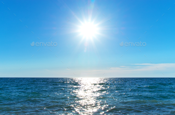 Coast of beach at day - Stock Photo - Images