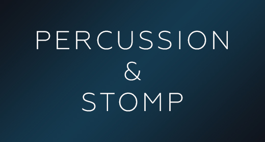 PERCUSSION & STOMP MUSIC