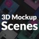 Laptop 3D Mockup Scenes for Social Media - VideoHive Item for Sale