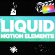 Liquid Motion Elements | Apple Motion - VideoHive Item for Sale