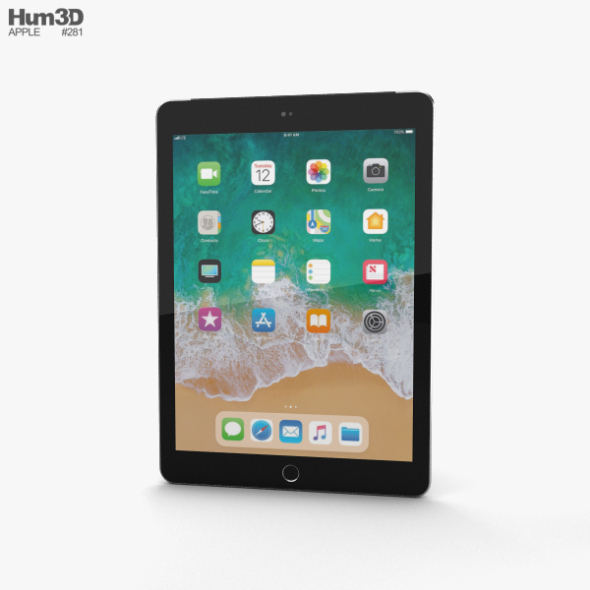 Apple iPad 9.7-inch (2018) Cellular Space Gray