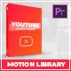 Youtube Motion Library | Essential Graphics | Mogrt - VideoHive Item for Sale