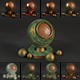 15 Bronze Material Shaders for Cinema4d Octane Render