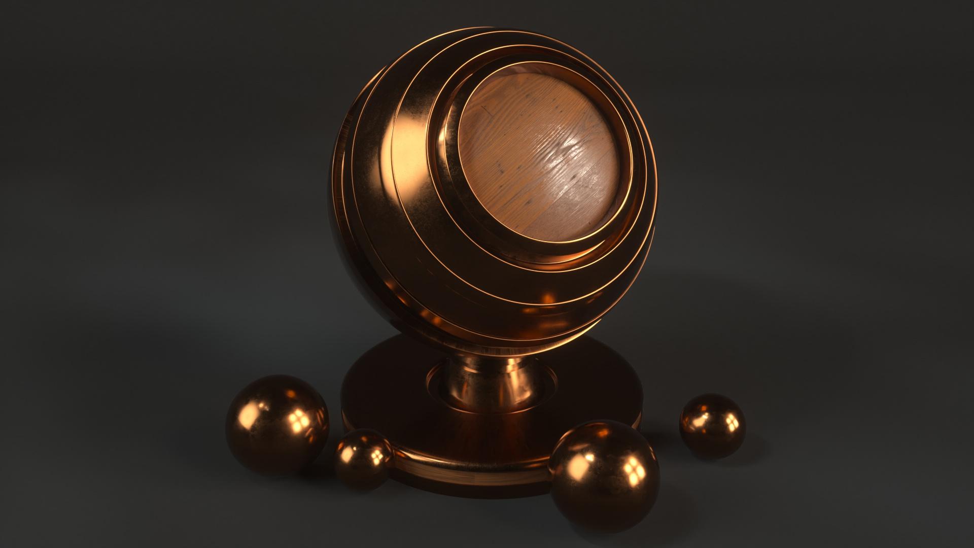 15 Bronze Material Shaders for Cinema4d Octane Render