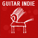 Guitar Indie Acoustic Background