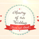 Wedding´s Memories - VideoHive Item for Sale