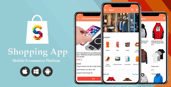 Shopping - Ecommerce Shop Online Android