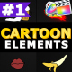 Cartoon Elements | Apple Motion - VideoHive Item for Sale