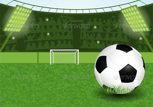 Soccer Stadium - Sports/Activity Conceptual
