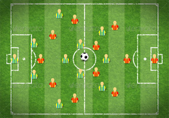 Soccer Field - Sports/Activity Conceptual