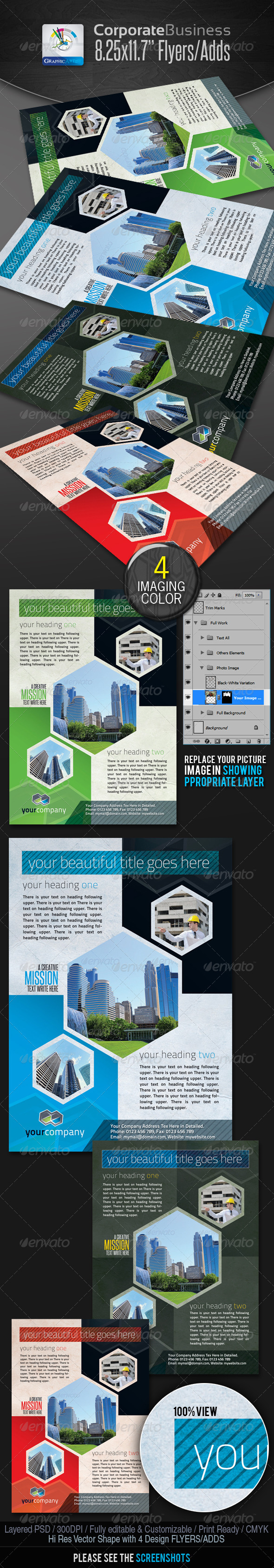 StylishCube Corporate Business Flyers/Ads - Corporate Flyers