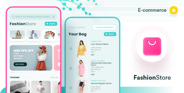 Ecommerce FashionStore Template