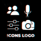 Icons Logo Reveal - VideoHive Item for Sale