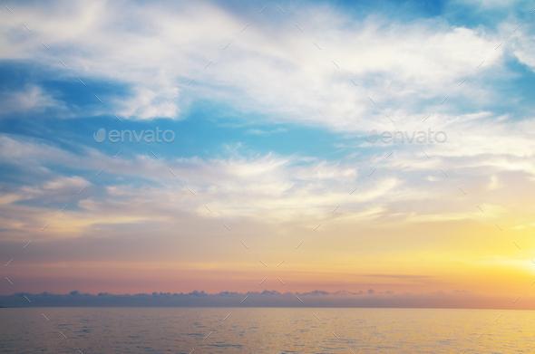 Sky background. - Stock Photo - Images